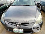 Honda Accord 2004 Sedan EX Gray | Cars for sale in Rivers State, Port-Harcourt