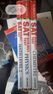 Sat Subjects Test, Chemistry, Physics, And Mathematics (3 In 1) | Books & Games for sale in Lagos State, Yaba