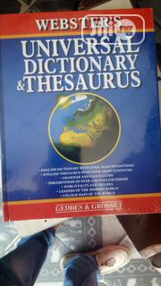 Big Universal Dictionary Thesaurus | Books & Games for sale in Lagos State, Yaba
