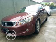Honda Accord 2008 3.5 EX Automatic Red | Cars for sale in Lagos State, Amuwo-Odofin