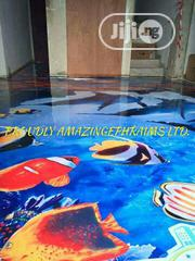 Epoxy 3D And Reflective Floors | Building & Trades Services for sale in Lagos State, Gbagada