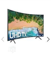 "Samsung 65"" UHD 4K Smart Curved Tv, With Video Usb.. 