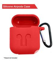 Drop-Proof Silicone Cover Case for Apple Airpods   Accessories & Supplies for Electronics for sale in Lagos State, Ikeja