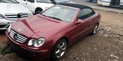 Mercedes-Benz CLK 2005 Red | Cars for sale in Lagos State, Ojodu