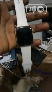 Apple Watch Series 4 44mm White Colour Original Watch   Smart Watches & Trackers for sale in Lagos State, Ikeja