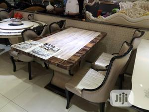 Royal Marble Top Dining Set