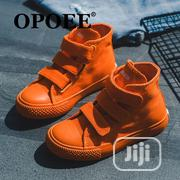 Children Shoes (Orange Sneakers   Shoes for sale in Lagos State, Ajah