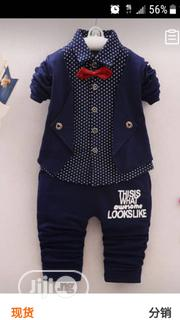Cute 3 in 1 Set Cloth for Boys | Children's Clothing for sale in Lagos State, Egbe Idimu