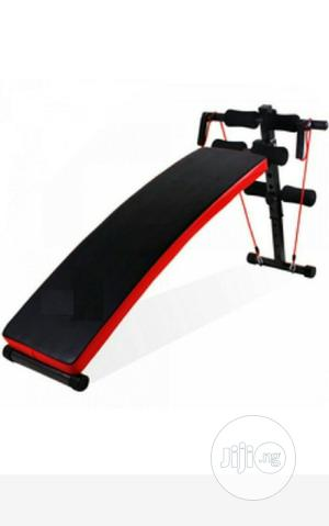 Sit Up Bench With Dumbbells