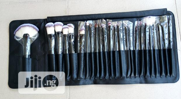 Makeup Brushes In Park