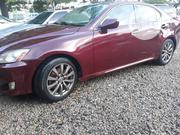 Lexus IS 2007 250 SE Red | Cars for sale in Abuja (FCT) State, Jabi