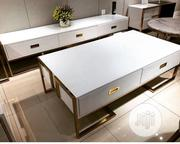 High Quality Tv Stand And The Table (Best Quality) Only At NEMEKINGS | Furniture for sale in Lagos State, Ojo