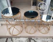Three Steps Glass Stools(Tempered Glass) | Furniture for sale in Lagos State, Ojo