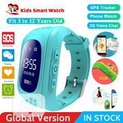 Q50 Kids GPS Intelligent Watch Telephone (Black , Blue And Pink) | Children's Gear & Safety for sale in Abuja (FCT) State, Garki 2