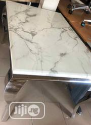 Standard Marble Dining Table With Six Chairs | Furniture for sale in Lagos State, Lekki Phase 2
