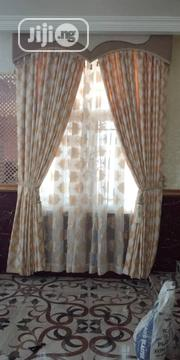 Turkish Designed Curtain With Board | Home Accessories for sale in Lagos State, Ojo