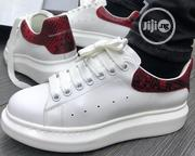 Alexander McQueen White Python Sneakers | Shoes for sale in Lagos State, Lagos Island