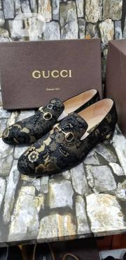 Black and Gold Men's Shoes | Shoes for sale in Lagos State, Lagos Island