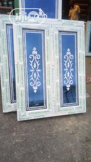 Casement Window With Designed Glass | Windows for sale in Rivers State, Port-Harcourt