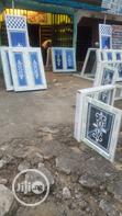 Casement Window With Designed Glass   Windows for sale in Port-Harcourt, Rivers State, Nigeria