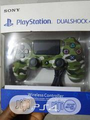 Dualshock 4 Wireless Controller Green Camo | Video Game Consoles for sale in Lagos State, Ikeja