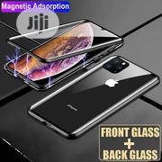 360° Double Glass Magnetic Adsorption Case Cover for iPhone 11 Pro Max | Accessories for Mobile Phones & Tablets for sale in Lagos State, Ikeja