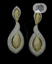 Cubic Zirconia Earrings 1-006 | Jewelry for sale in Lagos State, Amuwo-Odofin
