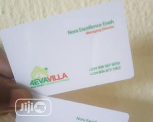Plastic PVC Business Cards