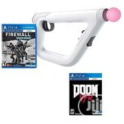 PSVR Doom VFR Game,PSV Firewall Game And PSVR Aim Controller{3 Iitems} | Video Games for sale in Lagos State, Agege