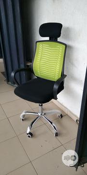 Mesh Chair With Headrest | Furniture for sale in Lagos State, Ojo