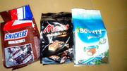Bounty,Mars& Snickers Miniatures 220g   Meals & Drinks for sale in Lagos State, Amuwo-Odofin