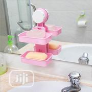 Plastic Colorful Double Layers Soap Holder | Home Accessories for sale in Abuja (FCT) State, Wuse II