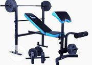 Bench Press With Barbell and Dumbells | Sports Equipment for sale in Lagos State, Magodo