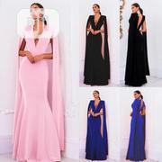 Prime Clothing V-shape Evening Dress | Clothing for sale in Lagos State, Ikoyi