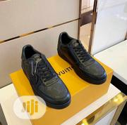 Original Louis Vuitton Men's Quality Leather Sneakers | Shoes for sale in Lagos State, Lagos Island