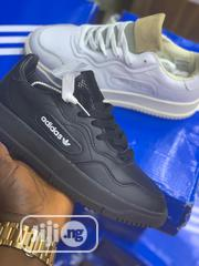 Quality Adidas Men's Leather Slippers   Shoes for sale in Lagos State, Lagos Island