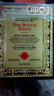 Wooden Plaque Award | Arts & Crafts for sale in Lagos State, Badagry