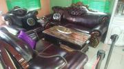 Very Quality Leather Sets Chairs With Table | Furniture for sale in Lagos State, Ojo