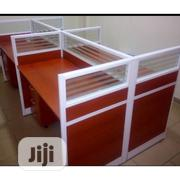 Highly Classy Glass Partition Office Workstation Table | Furniture for sale in Lagos State, Yaba