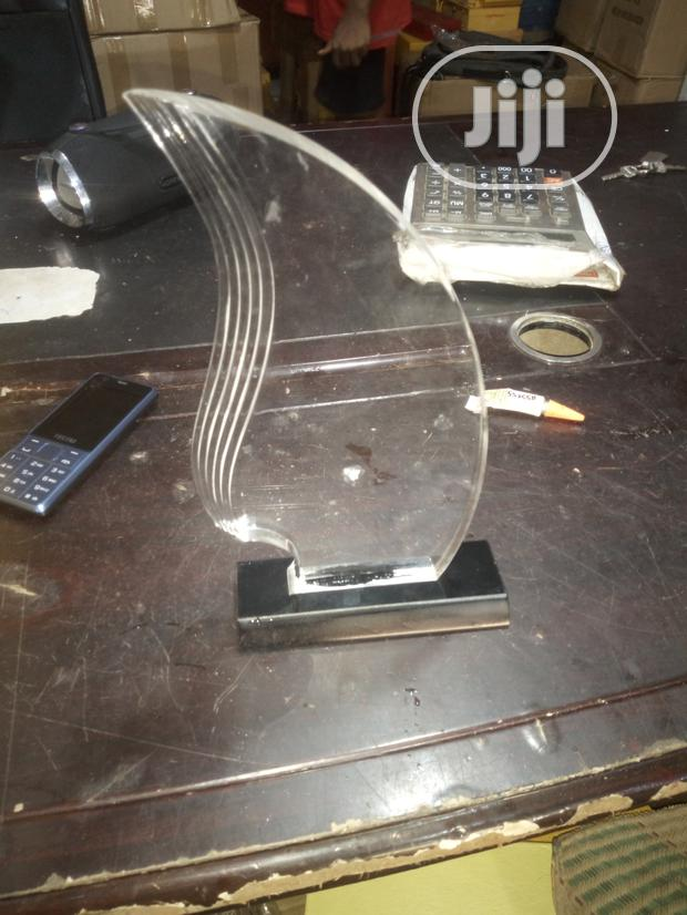 Acrylic Award For Excellence