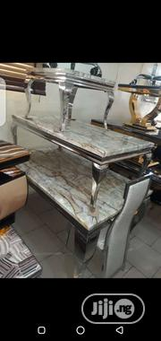 Set of Dining and Table With 2 Side Stools | Furniture for sale in Lagos State, Ojo