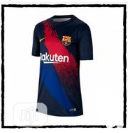 Barcelona Pre Match Shirt | Clothing for sale in Lagos State, Surulere