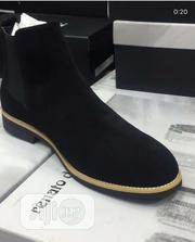 Men's Exclusive Suede Chelsea Boots - Black | Shoes for sale in Lagos State, Kosofe