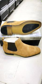 Men's Exclusive Suede Chelsea Boots - Brown | Shoes for sale in Lagos State, Kosofe
