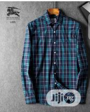 Burberry Packet Shirt Original 456 | Clothing for sale in Lagos State, Surulere