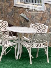 Seat Out Iron Garden Table And Chairs | Furniture for sale in Abuja (FCT) State, Wuse