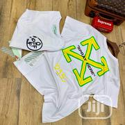 Off-White Roundneck T-Shirt | Clothing for sale in Lagos State, Surulere