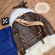 Louis Vuitton Leather Jacket | Clothing for sale in Lagos State, Surulere