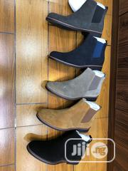 Men's Exclusive Suede Chelsea Leather Boots | Shoes for sale in Lagos State, Kosofe