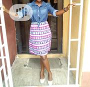 Jeans High Low Dress | Clothing for sale in Lagos State, Yaba